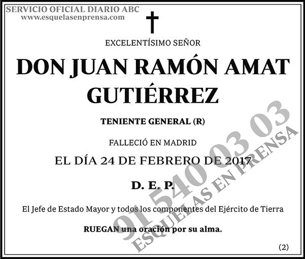 Juan Ramón Amat Gutiérrez